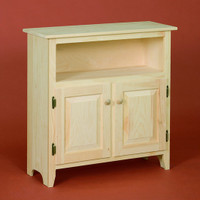 Cabinet With 2 Doors and Shelf