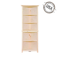Corner Cabinet With Fixed Shelving