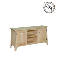 "Slanted Top TV Stand 48"" Wide"