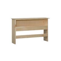 "Queen Bookcase Headboard (41"" High) in Pine"