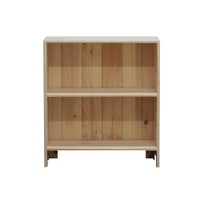Astoria Plain Wainscoting Bookcase With 1 Fixed Shelf