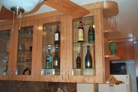 CUSTOM - Bar Counter and Cabinets
