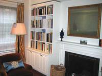 CUSTOM - Built In Bookshelf Wall Unit