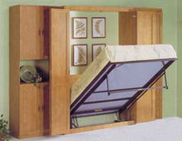 CUSTOM - Murphy Bed And Closet