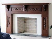 CUSTOM - Fireplace Mantel