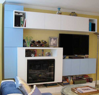 CUSTOM - Neo Modern Fireplace Mantel