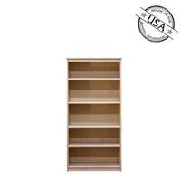 Lexington Birch Bookcase, 12x30x60