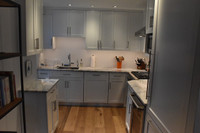 CUSTOM - Built In Kitchen Cabinets in White