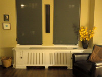 CUSTOM - Radiator Cover in White