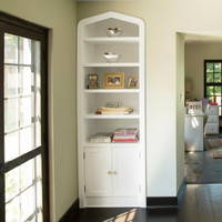 CUSTOM - Built in Bookcase in White