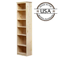 "York Bookcase, 11 3/4"" x 19"" x 72"""