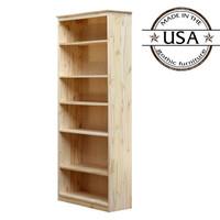 "York Bookcase, 11 3/4"" x 25"" x 72"""