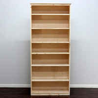 "York Bookcase, 11 3/4"" x 37"" x 84"""