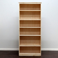 "York Bookcase, 11 3/4"" x 31"" x 72"""