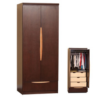 Soho Wardrobe w/ 4 Drawer Insert