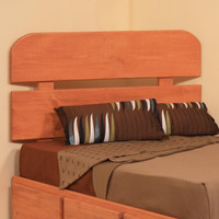 Pine Slatted Headboard, Twin
