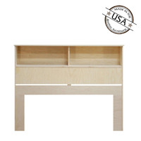 "King Bookcase Headboard (46"" High)"