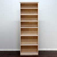 Lexington Birch Bookcase, 12x30x84