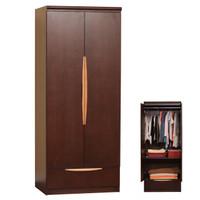 Soho Wardrobe w/ Hanging Rod & Shelf