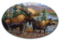 SafeArt Magnet Picture - Alaskan Royalty, Moose
