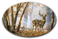 SafeArt Magnet Picture - Broken Solitude, Buck Deer