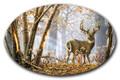 SafeArt Magnet Picture - Broken Solitude, Buck Deer