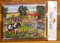 Leanin Tree 8 Pack Card Set - Country Scene