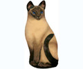 Fiddlers Elbow Siamese CAT Doorstop Door Stop