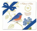 Alice's Cottage Set of 2 Cotton Flour Sack Towels BLUEBIRD