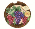 Car , Auto Single Coaster - PURPLE & GREEN GRAPES