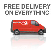Free Delivery on all UK orders - picture of a Royal Mail van