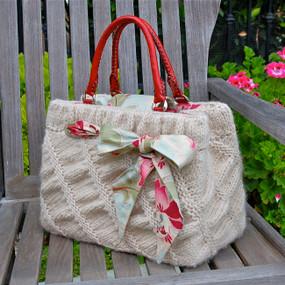 Oblique Ruched Bag