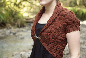Forest and Frill Shrug