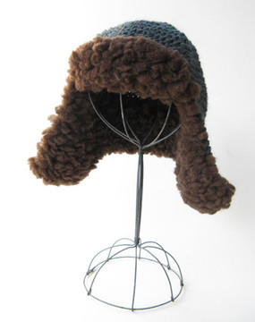 Fleeced Earflap Hat