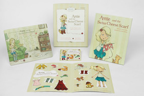 Annie and the Swiss Cheese Scarf Deluxe Set