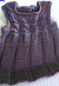 Child's Cabled Jumper
