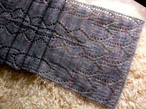 Orchid Lace Scarf