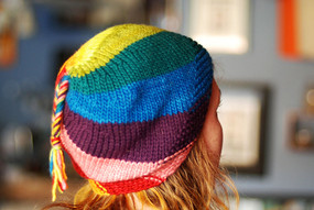 Spiraling Stripes Hats