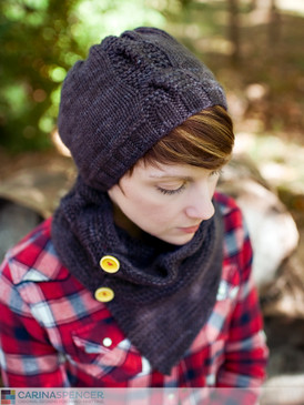 Garter Cable Hat