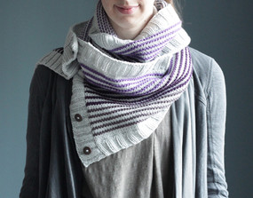Gradient Wrap Cowl