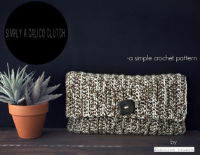 Simply A Calico Clutch