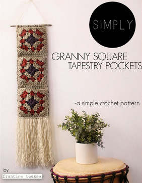 Simply Granny Square Tapestry Pockets
