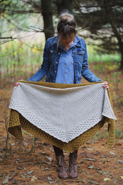 Winter Honey Shawl/Shawlette