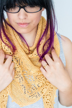 Wheat Fields Shawl