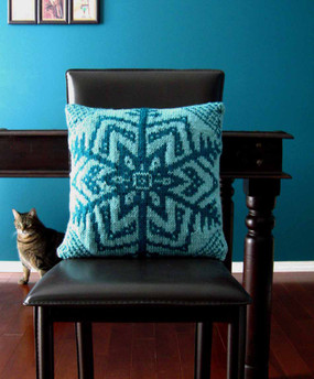 Snowflake Cushion Cover