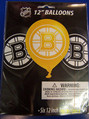 Boston Bruins NHL Hockey Sports Party Decoration Latex Balloons
