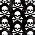 Skull & Bones Halloween Party Bulk Luncheon Napkins