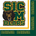Baylor Bears NCAA Sports Party Luncheon Napkins