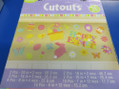 Easter 36 ct. Value Pack Cutouts