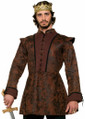 King's Coat Medieval Fantasy Adult Costume Accessory